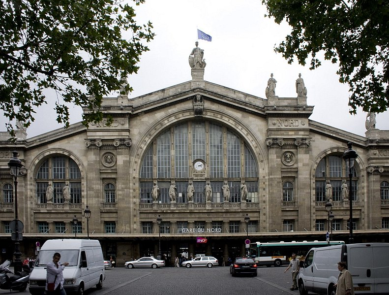 Photo du Monument Historique Gare du Nord situé à Paris 10e Arrondissement