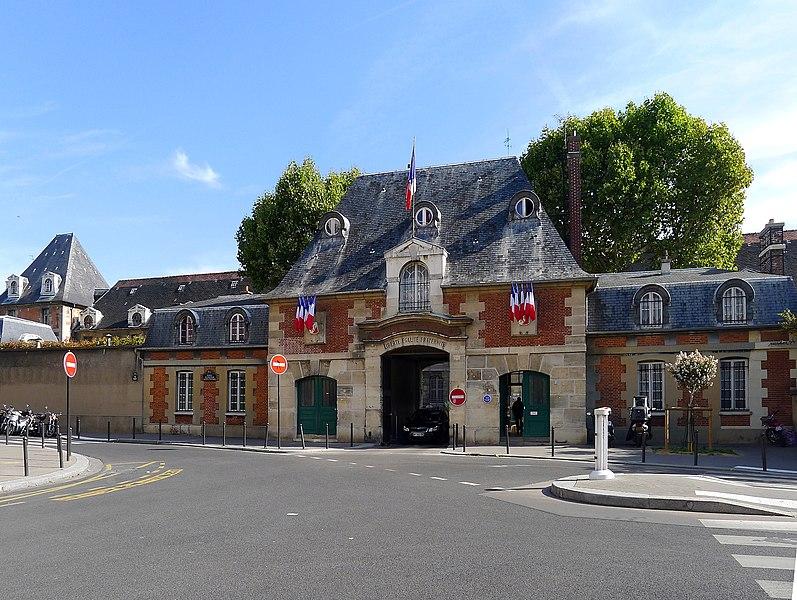 Photo du Monument Historique Hôpital Saint-Louis situé à Paris 10e Arrondissement
