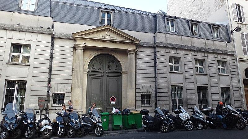 Photo du Monument Historique Hôtel Chéret ou Akermann situé à Paris 10e Arrondissement