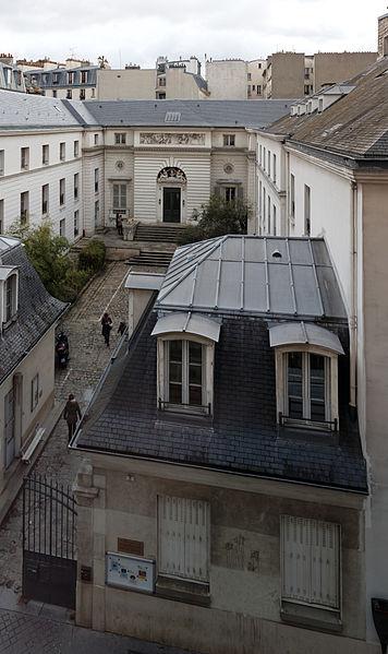 Photo du Monument Historique Hôtel Gouthière situé à Paris 10e Arrondissement