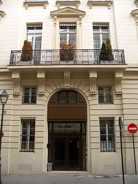 Photo du Monument Historique Hôtel de Rosambo situé à Paris 10e Arrondissement