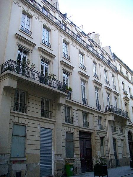 Photo du Monument Historique Ancien hôtel de Sechtré situé à Paris 10e Arrondissement