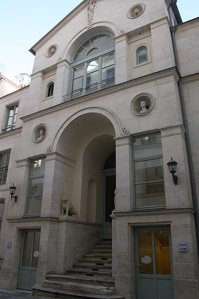 Photo du Monument Historique Ancien hôtel particulier (hôtel de M. Bertin) situé à Paris 10e Arrondissement