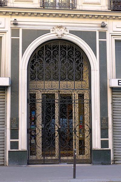 Photo du Monument Historique Maison situé à Paris 10e Arrondissement