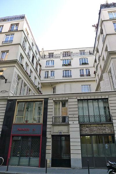 Photo du Monument Historique Maison ou ancien hôtel de Raguse situé à Paris 10e Arrondissement
