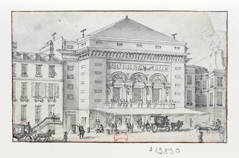 Photo du Monument Historique Théâtre de la Porte-Saint-Martin situé à Paris 10e Arrondissement