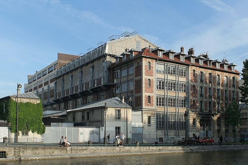 Photo du Monument Historique Usine électrique situé à Paris 10e Arrondissement