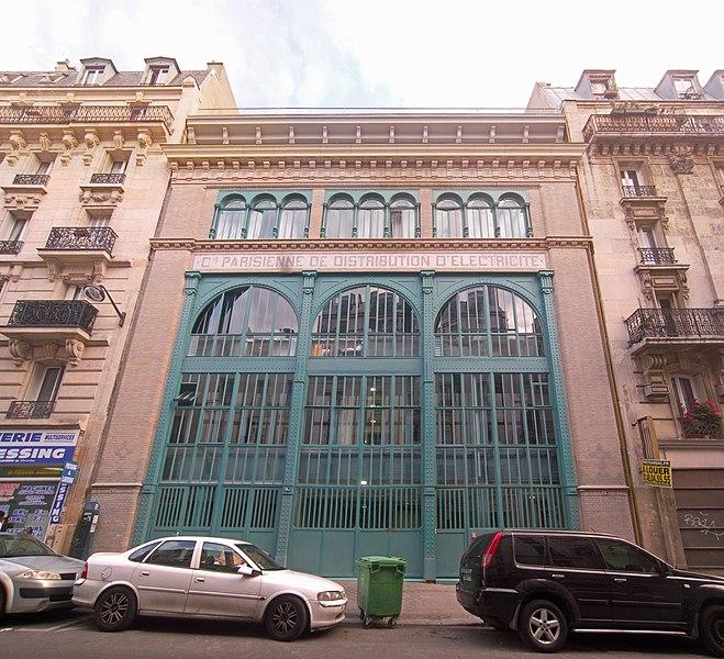 Photo du Monument Historique Sous-station Temple situé à Paris 10e Arrondissement
