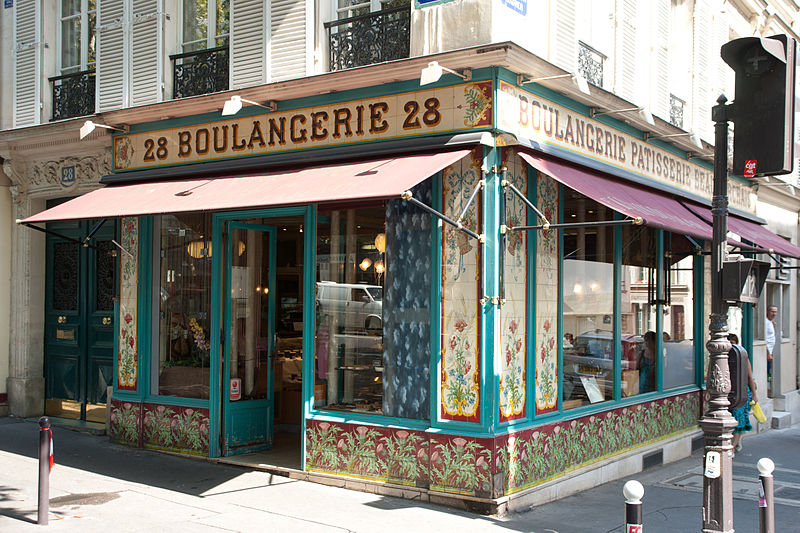 Photo du Monument Historique Boulangerie situé à Paris 11e Arrondissement