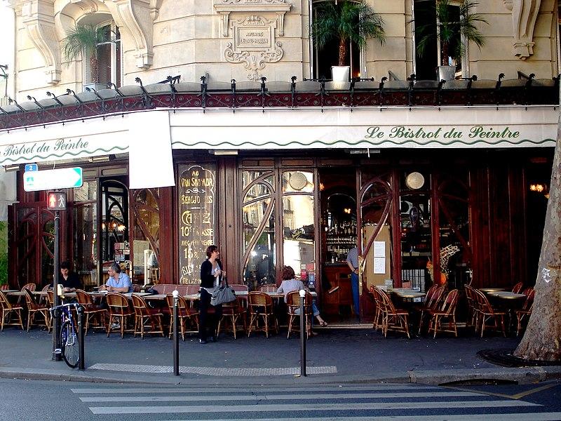 Photo du Monument Historique Café-Bar Le Carrefour situé à Paris 11e Arrondissement