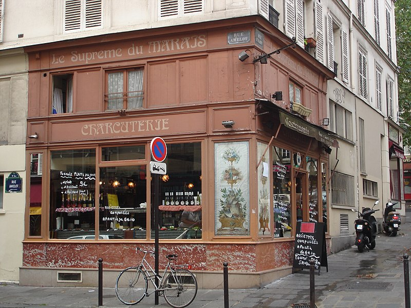Photo du Monument Historique Charcuterie situé à Paris 11e Arrondissement