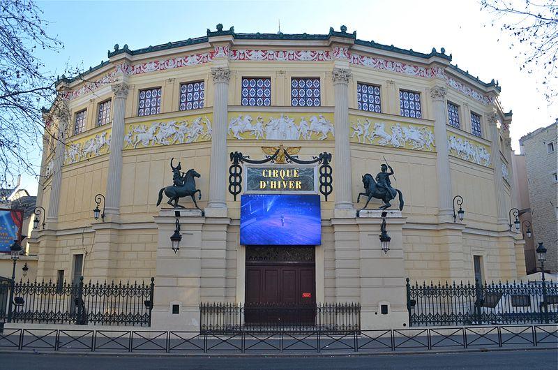 Photo du Monument Historique Cirque d'Hiver situé à Paris 11e Arrondissement