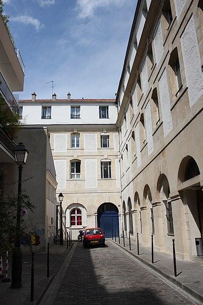 Photo du Monument Historique Ancien couvent des Bénédictines du Bon-Secours situé à Paris 11e Arrondissement