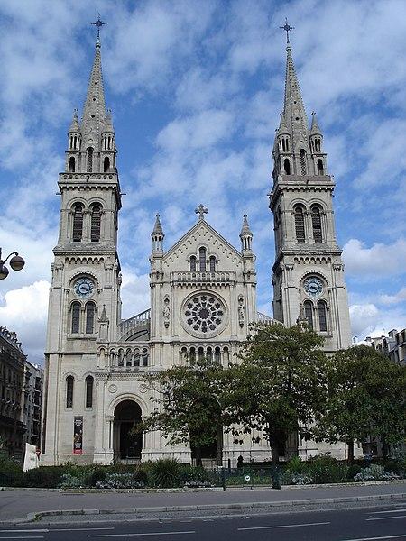 Photo du Monument Historique Eglise Saint-Ambroise situé à Paris 11e Arrondissement