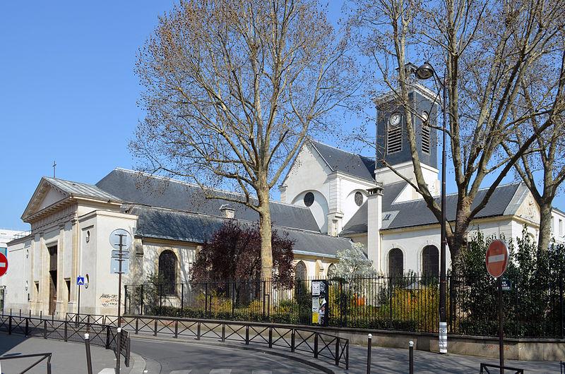 Photo du Monument Historique Eglise Sainte-Marguerite situé à Paris 11e Arrondissement