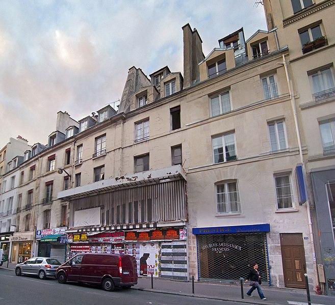 Photo du Monument Historique Immeubles situé à Paris 11e Arrondissement