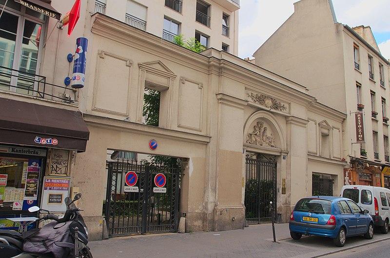 Photo du Monument Historique Maison situé à Paris 11e Arrondissement