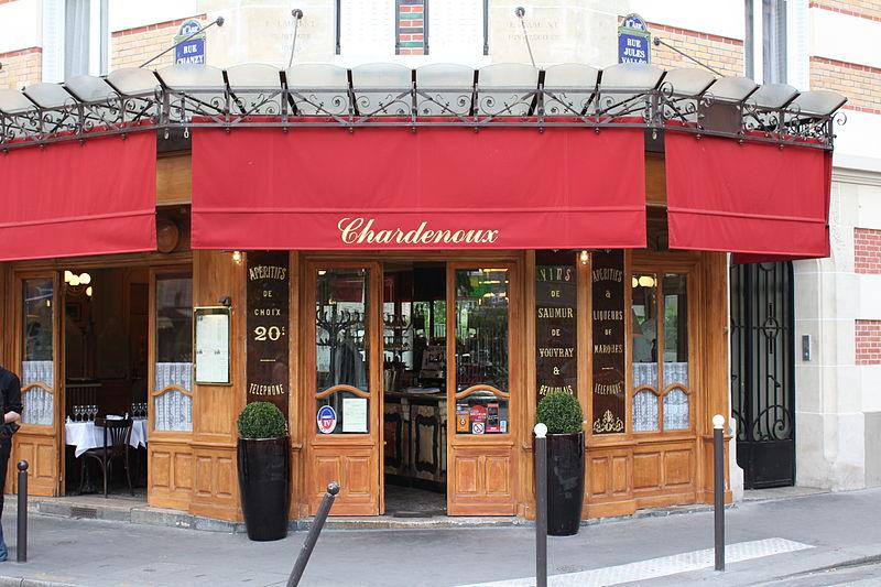 Photo du Monument Historique Restaurant Chardenoux situé à Paris 11e Arrondissement