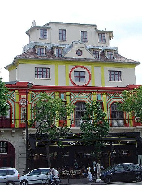 Photo du Monument Historique Ancien café-concert Le Bataclan situé à Paris 11e Arrondissement