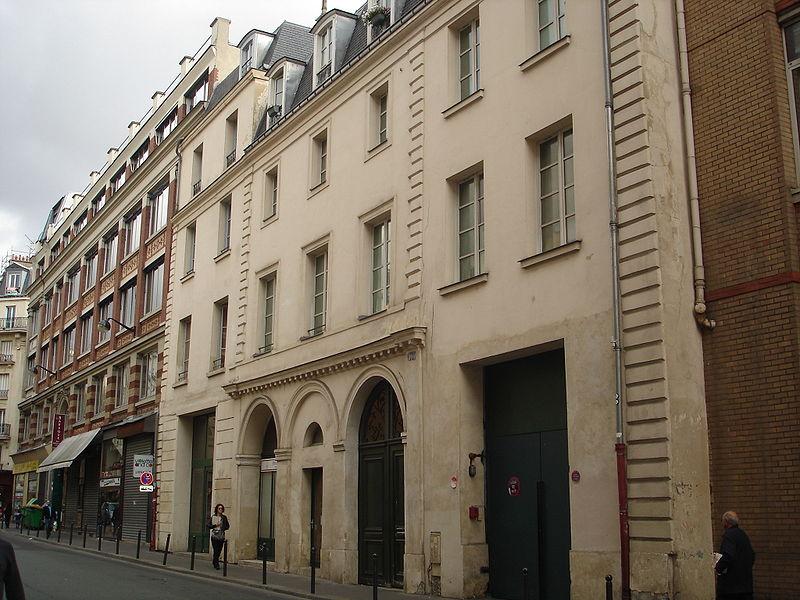 Photo du Monument Historique Vestiges de l'ancien couvent de la Madeleine de Traisnel situé à Paris 11e Arrondissement