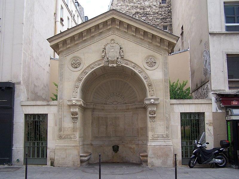 Photo du Monument Historique Fontaine de la Roquette situé à Paris 11e Arrondissement