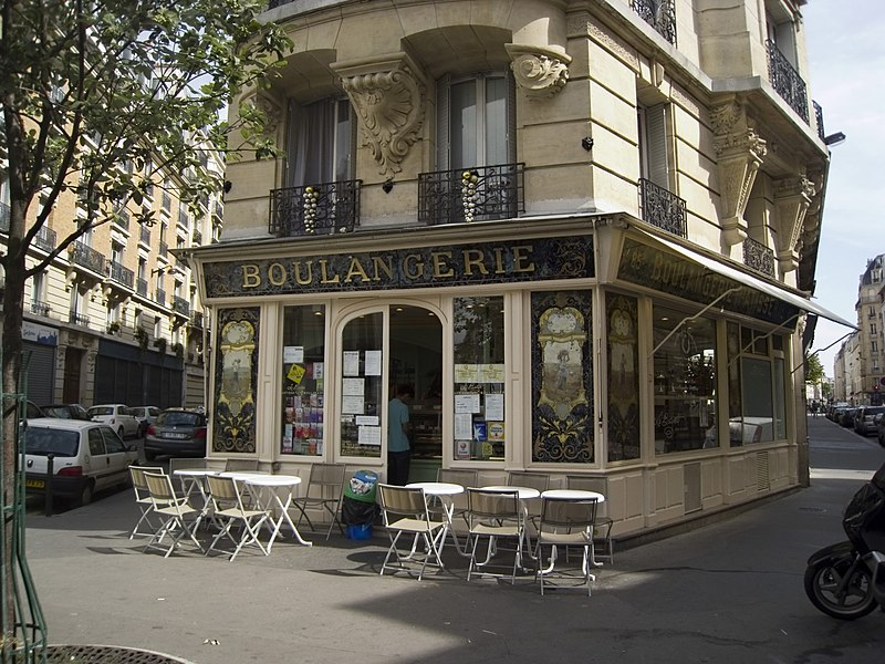 Photo du Monument Historique Boulangerie situé à Paris 12e Arrondissement