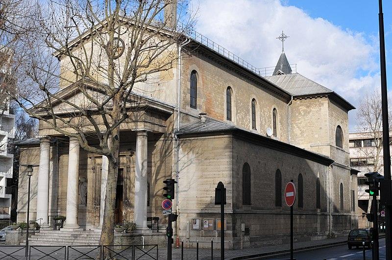 Photo du Monument Historique Eglise Notre-Dame-de-Bercy situé à Paris 12e Arrondissement