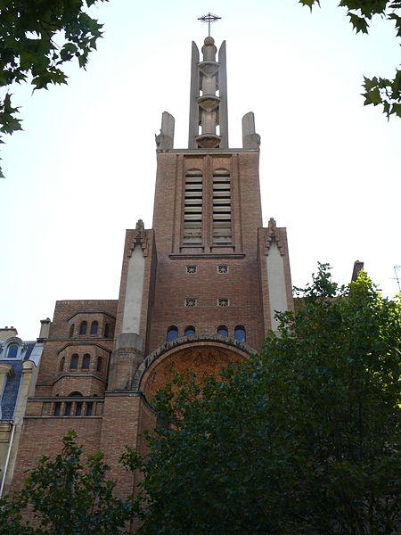 Photo du Monument Historique Eglise du Saint-Esprit situé à Paris 12e Arrondissement