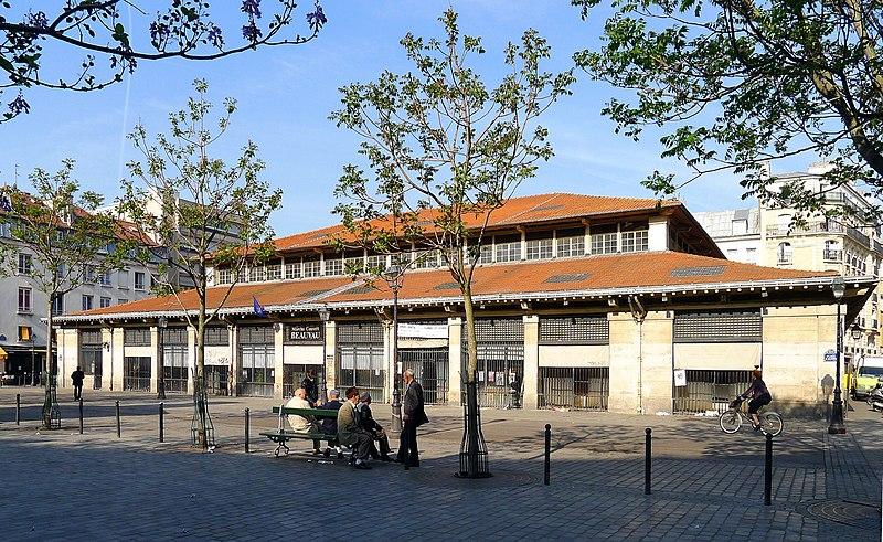 Photo du Monument Historique Marché Beauvau situé à Paris 12e Arrondissement