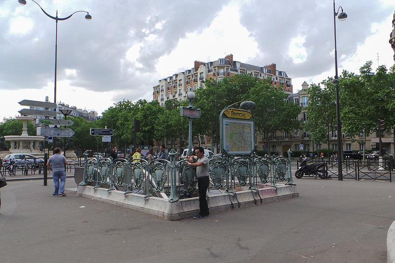 Photo du Monument Historique Métropolitain, station Daumesnil situé à Paris 12e Arrondissement