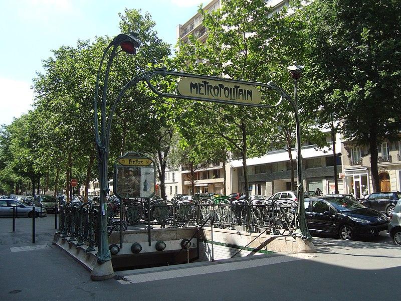 Photo du Monument Historique Métropolitain, station Picpus situé à Paris 12e Arrondissement