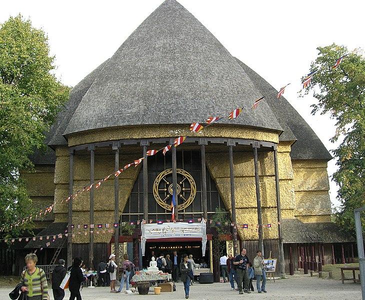 Photo du Monument Historique Ancien musée du Bois, actuellement Institut International Bouddhique situé à Paris 12e Arrondissement