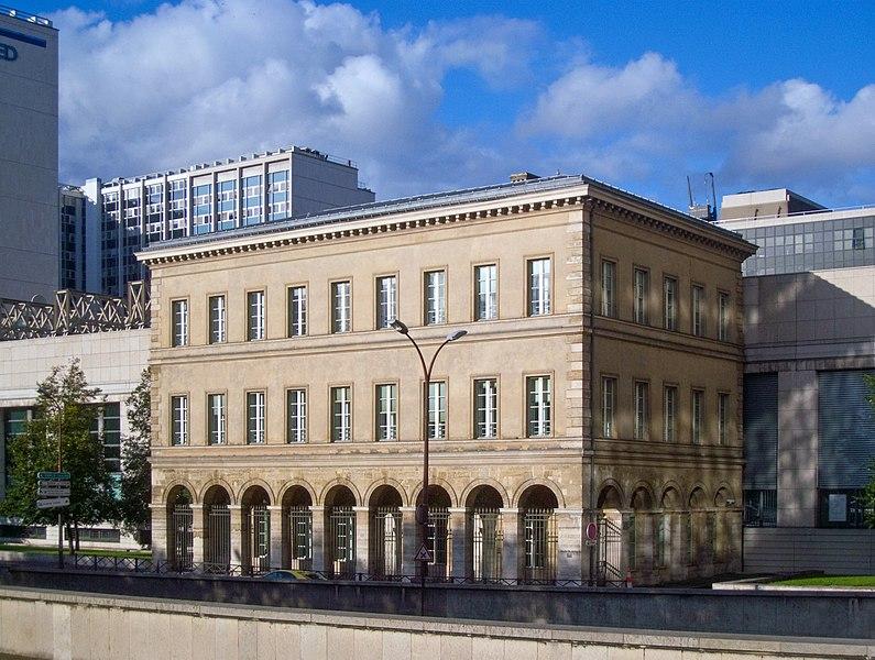 Photo du Monument Historique Pavillons de l'ancienne douane et de la Barrière d'eau situé à Paris 12e Arrondissement