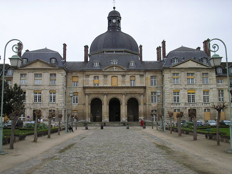 Photo du Monument Historique Hôpital de la Salpêtrière situé à Paris 13e Arrondissement