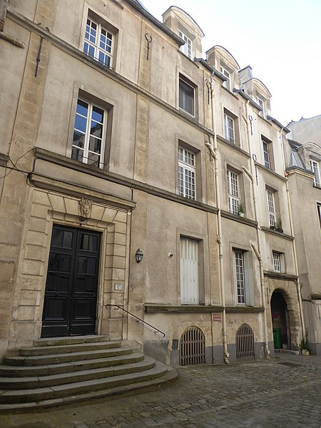 Photo du Monument Historique Maison situé à Paris 13e Arrondissement