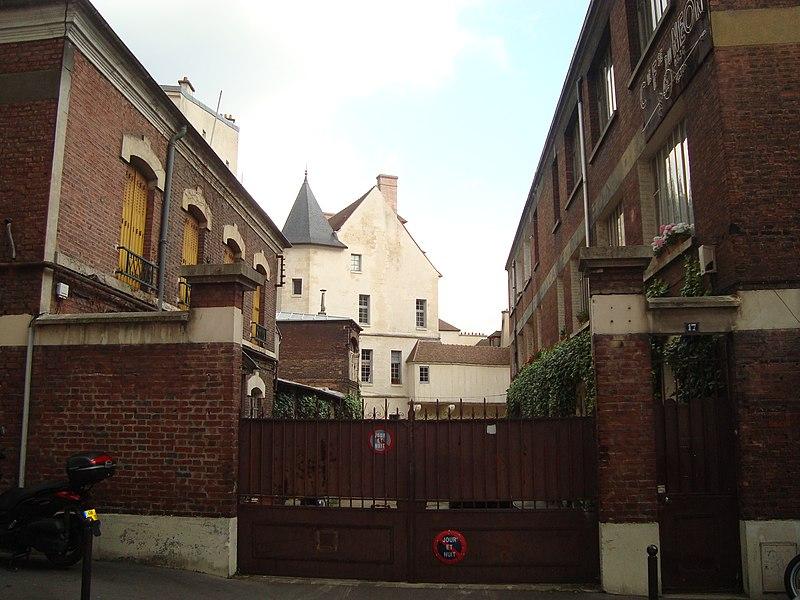 Photo du Monument Historique Ilôt de la Reine Blanche situé à Paris 13e Arrondissement