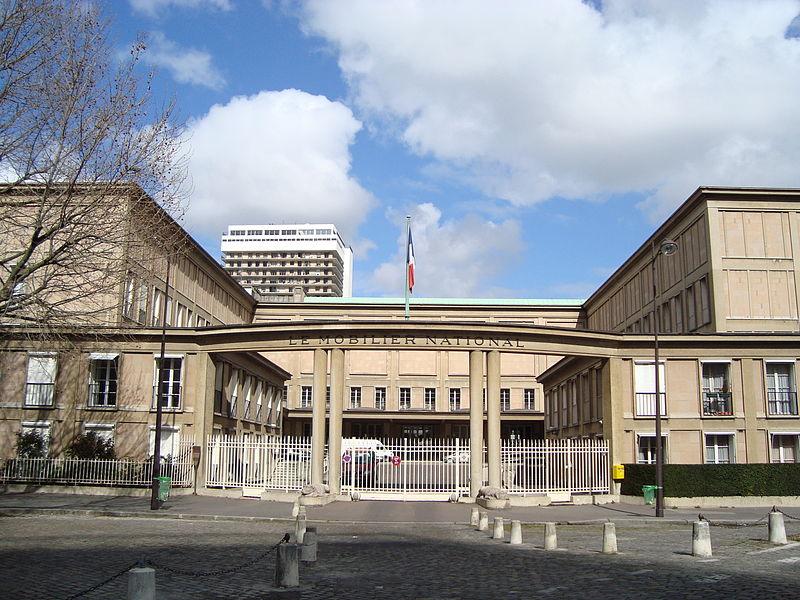 Photo du Monument Historique Mobilier National situé à Paris 13e Arrondissement