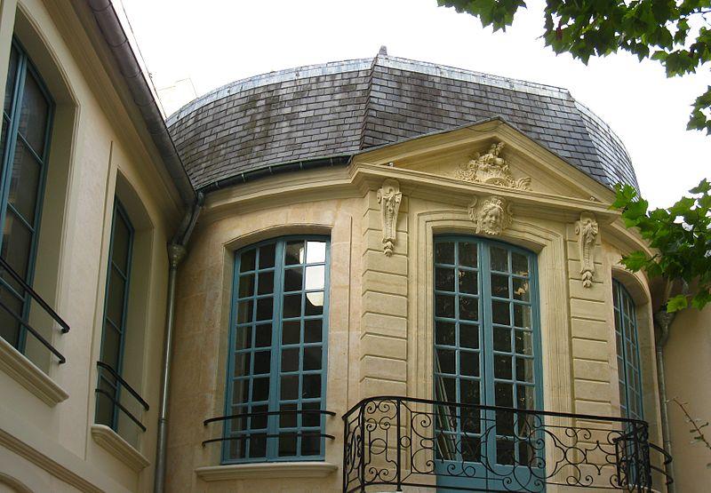 Photo du Monument Historique Pavillon Jean de Julienne situé à Paris 13e Arrondissement