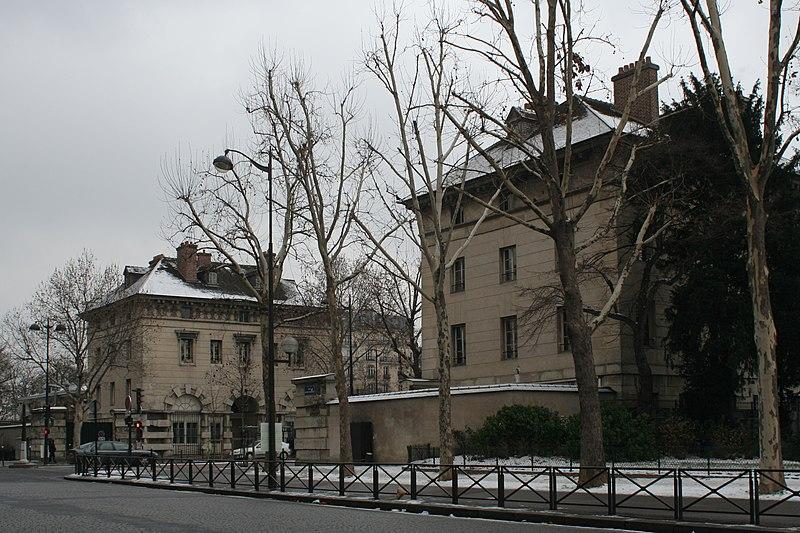 Photo du Monument Historique Barrière d'Enfer situé à Paris 14e Arrondissement