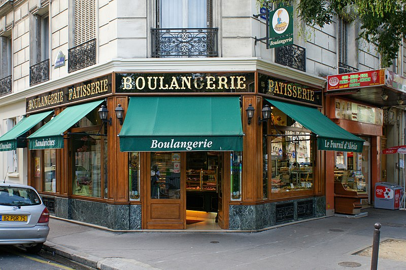 Photo du Monument Historique Boulangerie-pâtisserie situé à Paris 14e Arrondissement