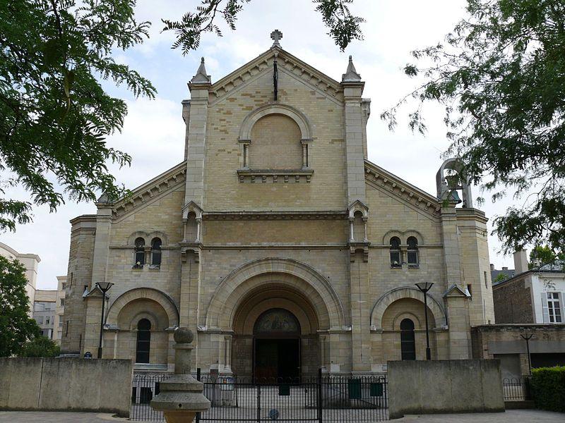 Photo du Monument Historique Eglise Notre-Dame-du-Travail situé à Paris 14e Arrondissement
