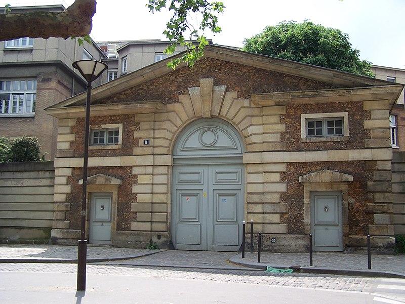Photo du Monument Historique Hôpital Cochin (ancien noviciat des Capucins) situé à Paris 14e Arrondissement