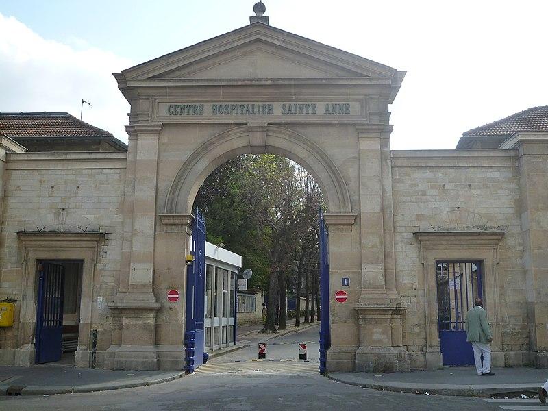 Photo du Monument Historique Ancien hôpital de la Santé ou hôpital Sainte-Anne situé à Paris 14e Arrondissement