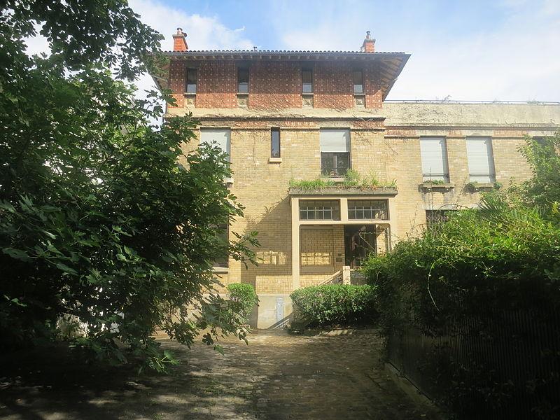 Photo du Monument Historique Maison construite par François Lecoeur situé à Paris 14e Arrondissement