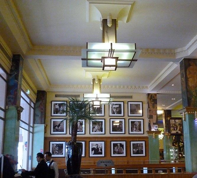 Photo du Monument Historique Restaurant La Coupole situé à Paris 14e Arrondissement
