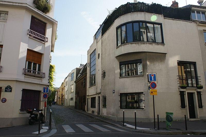 Photo du Monument Historique Villa Seurat (maison Jean Lurçat) situé à Paris 14e Arrondissement