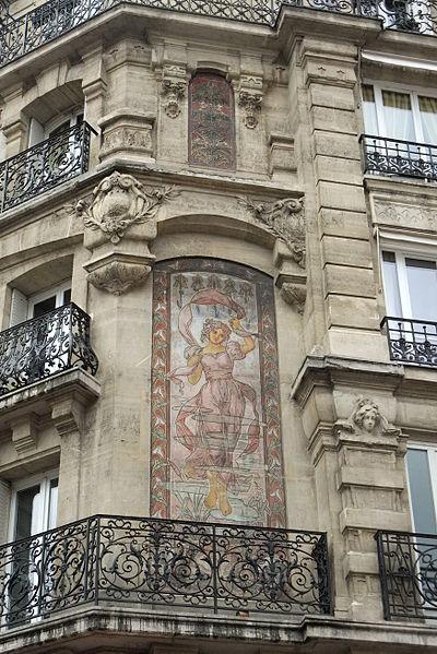 Photo du Monument Historique Immeuble situé à Paris 14e Arrondissement