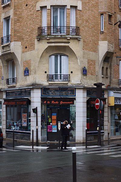 Photo du Monument Historique Boulangerie situé à Paris 15e Arrondissement