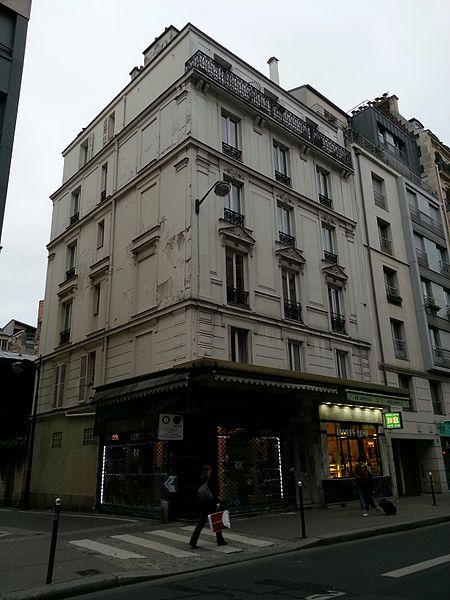 Photo du Monument Historique Crèmerie situé à Paris 15e Arrondissement