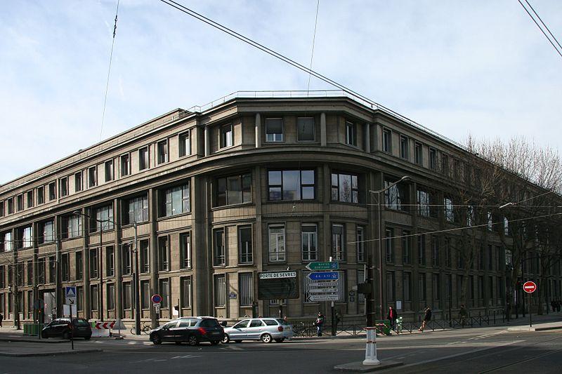 Photo du Monument Historique Laboratoire de la Marine situé à Paris 15e Arrondissement